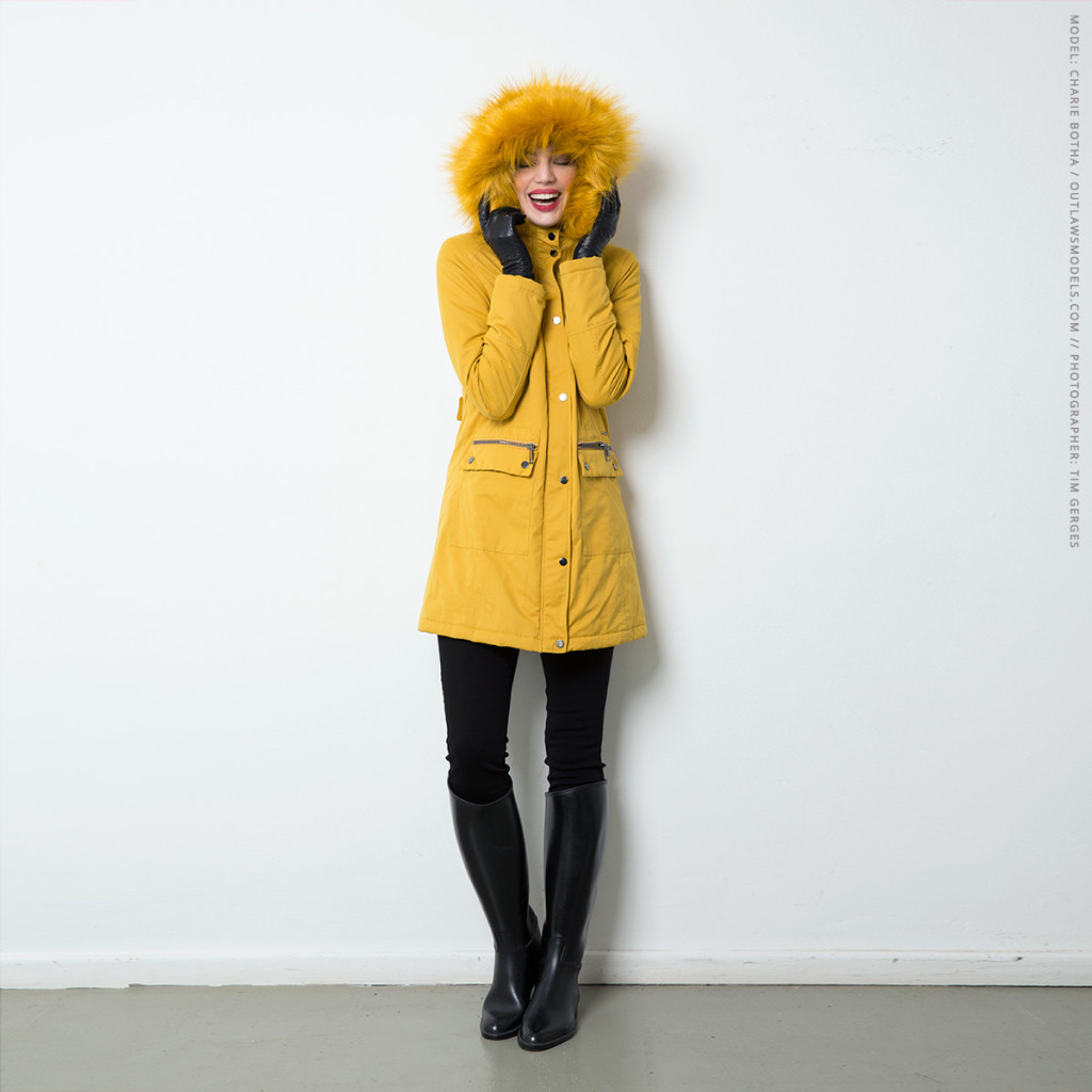 Liu Jo Hooded Faux Fur Trim Parka