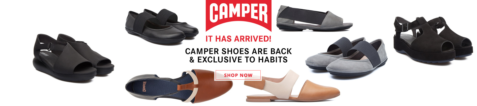 Camper Shoes at Habits