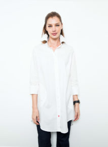Stretch Poplin Overshirt