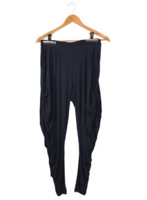 Side Drape pants at Habits