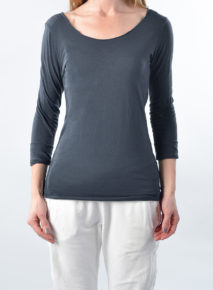 Suzy D Cotton Longsleeve Top