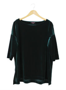 Habits Velvet Off Shoulder Top
