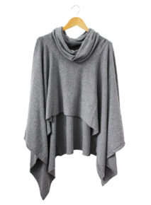 Suzy D Cashmere Oversized Poncho