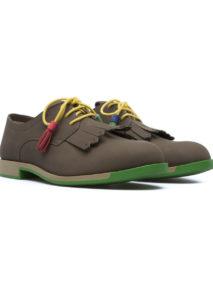 Camper Lace Up Tassle Brogue