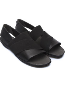 Camper Leather & Suede Sandal