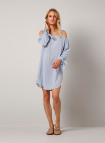 Yaya Bare Shoulder Dress
