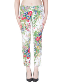 Joseph Ribkoff Floral Stretch Pants