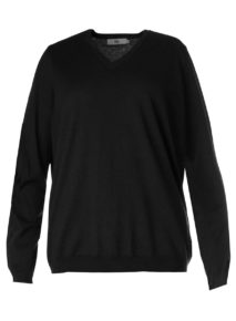 Caroline Sills V-neck Sweater
