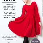 Save The Date - Habits JHB Trunk Show