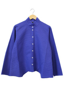 Yacco Maricard Angled Side Diagonal Pleat Shirt