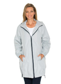 Yarra Trail Panelled Raincoat