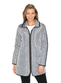 Yarra Trail Quilted Front Zip Jacket