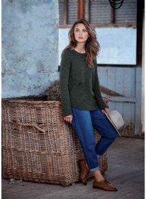Yarra Trail Rib Knit Jumper