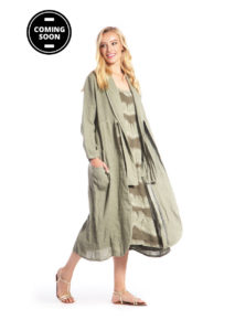 Eden Rock Coat with Knot