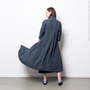 Habits Overdyed Linen Akita Dress
