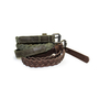 Trini Leather Plaited Belt