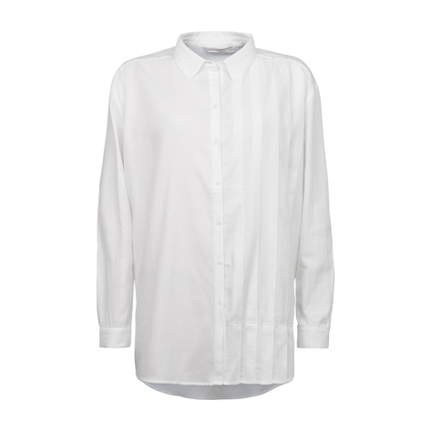 Yaya One Sided Pleat Detail Shirt