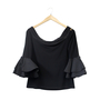 Joseph Ribkoff Off Shoulder Top With Sleeve Detail Back
