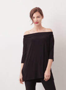 Off-The-Shoulder Elasticated Habits Top