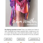 Spring Sensation Kaftans at Habits
