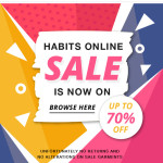 The Habits Online Sale Is Now On!