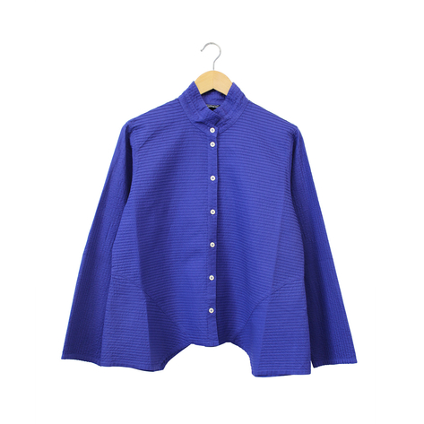 Yacco Maricard Side Diagonal Pleat Shirt