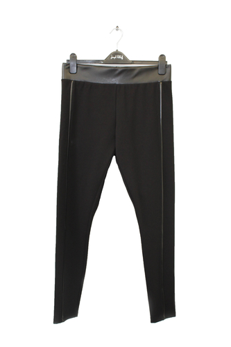 Joseph Ribkoff pants with leather waist